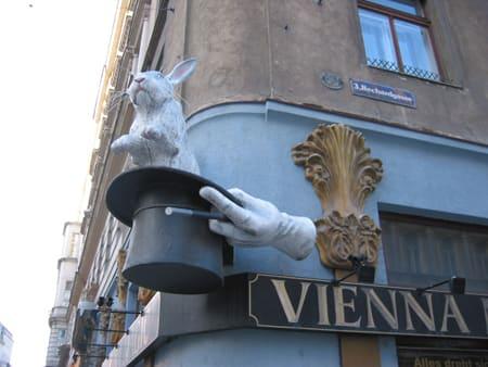 外国の看板 マジックショー? プラハ(チェコ)からのレポート