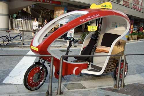 人力タクシー