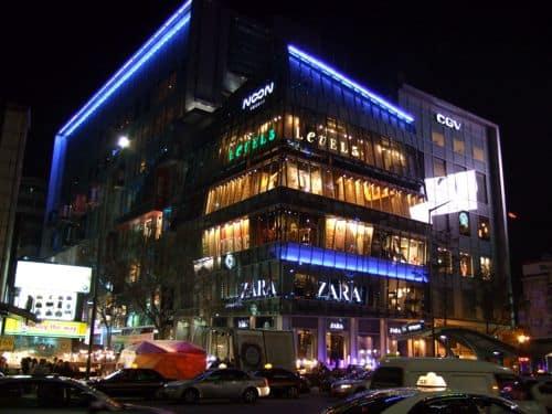 外国の看板 韓国ソウルの看板(その1)